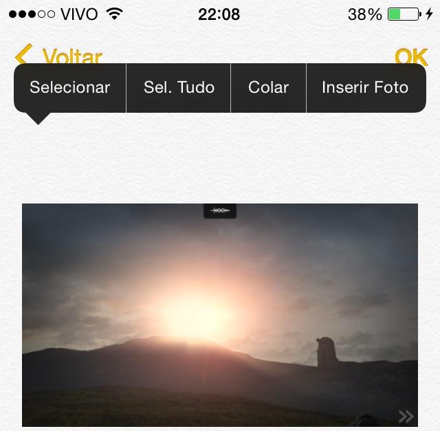 Notas iOS 8