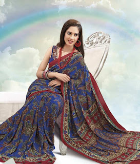 Saree Design For This Year Eid+(13) Eid Collection Saree Design
