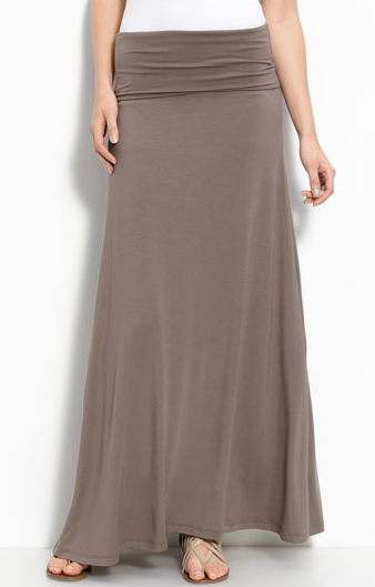 Long skirts are back a...
