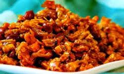 Resep Praktis (mudah) membuat masakan kering tempe kacang teri enak