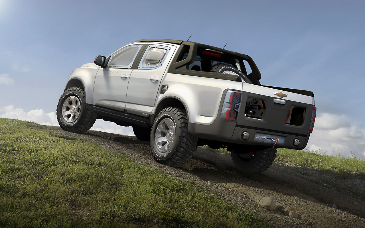 new car chevrolet colorado rally concept truck. Black Bedroom Furniture Sets. Home Design Ideas