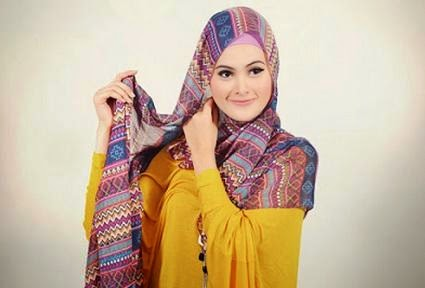 Tips Cara Memakai Hijab Pashmina Simple Dan Modis