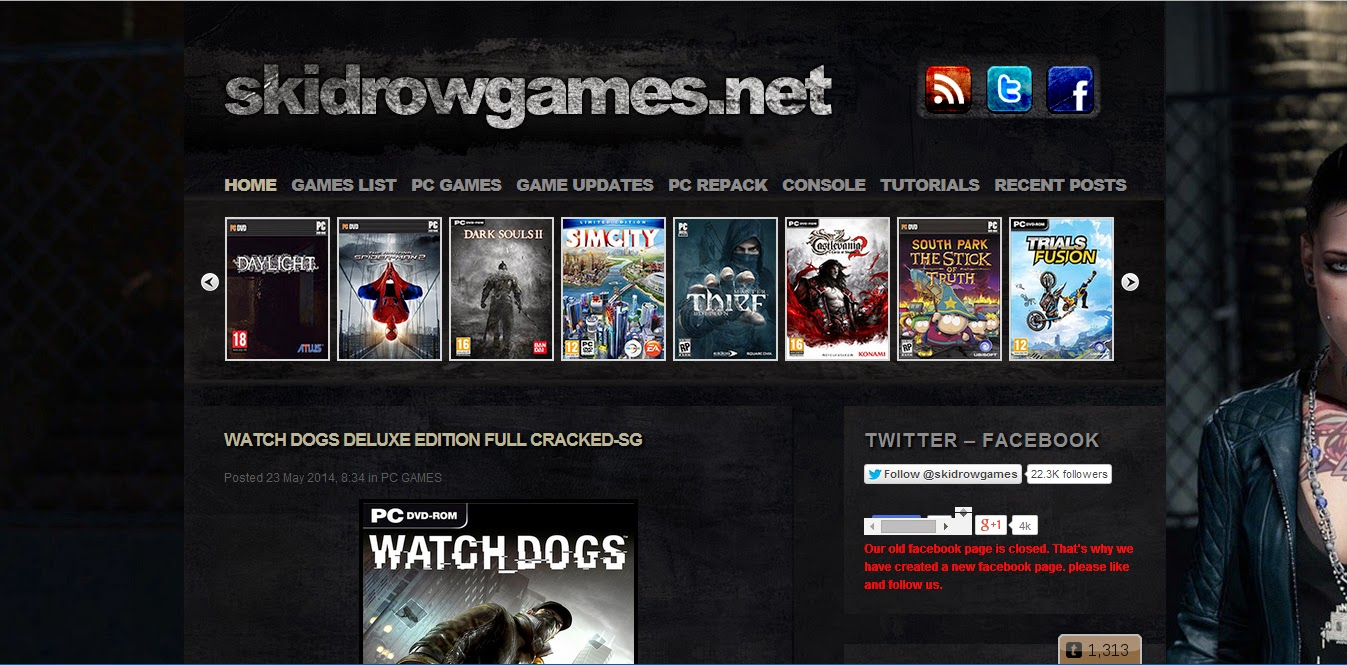 Anything Unrelated: Skidrow Games: An online portal to download ...