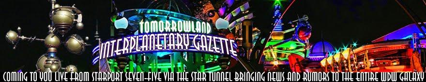 The Tomorrowland Interplanetary Gazette