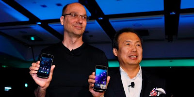 "Andy Rubin ""Sang Bapak"" Android Mundur Samsung Lega"
