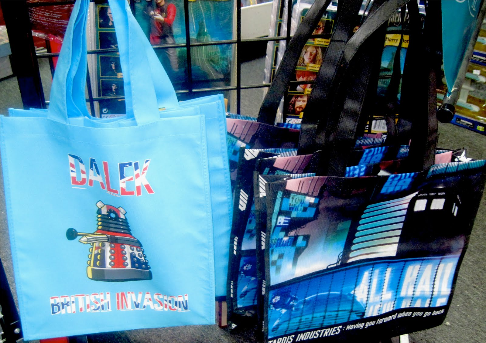 Doctor Who Tote Bags