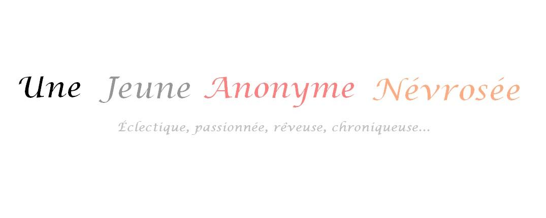 Une Jeune Anonyme Névrosée
