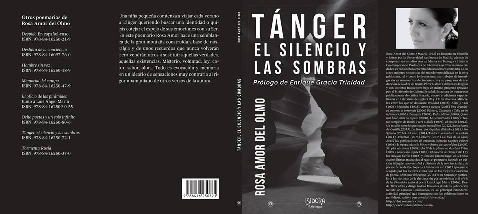 Tánger, el silencio y las sombras Prólogo de Enrique Gracia Trinidad