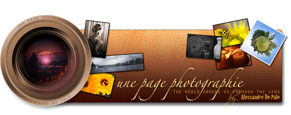 une page photographie