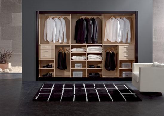 Dise os de closet modernos imagui for Closet en madera para habitaciones