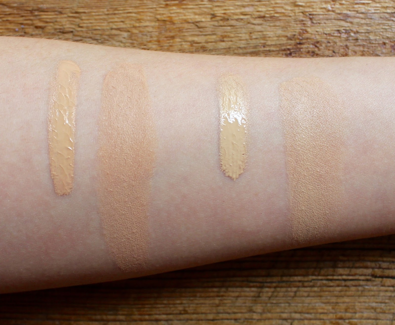 beautywithemilyfox too faced born this way foundation review swatches