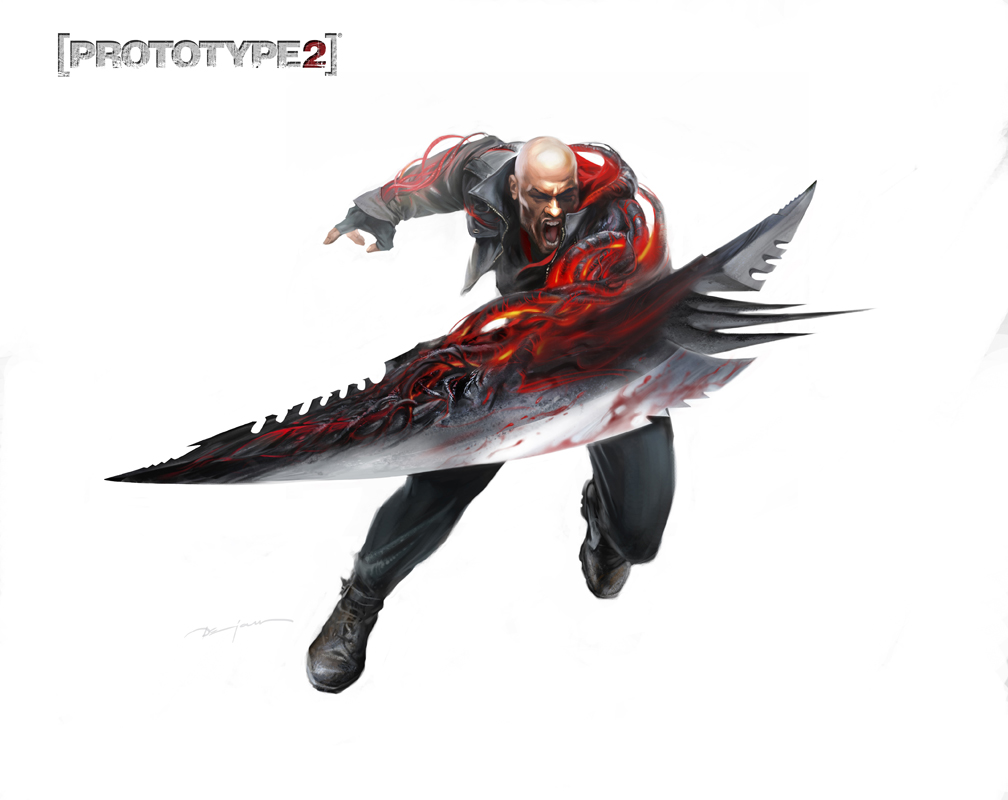 The Art Of Dejan Ostojic: Prototype 2 Concept Art