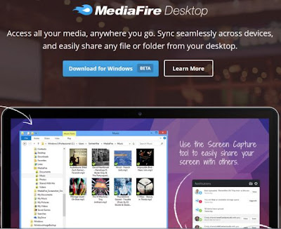 MediaFire Released Official Desktop Client for Windows and Mac