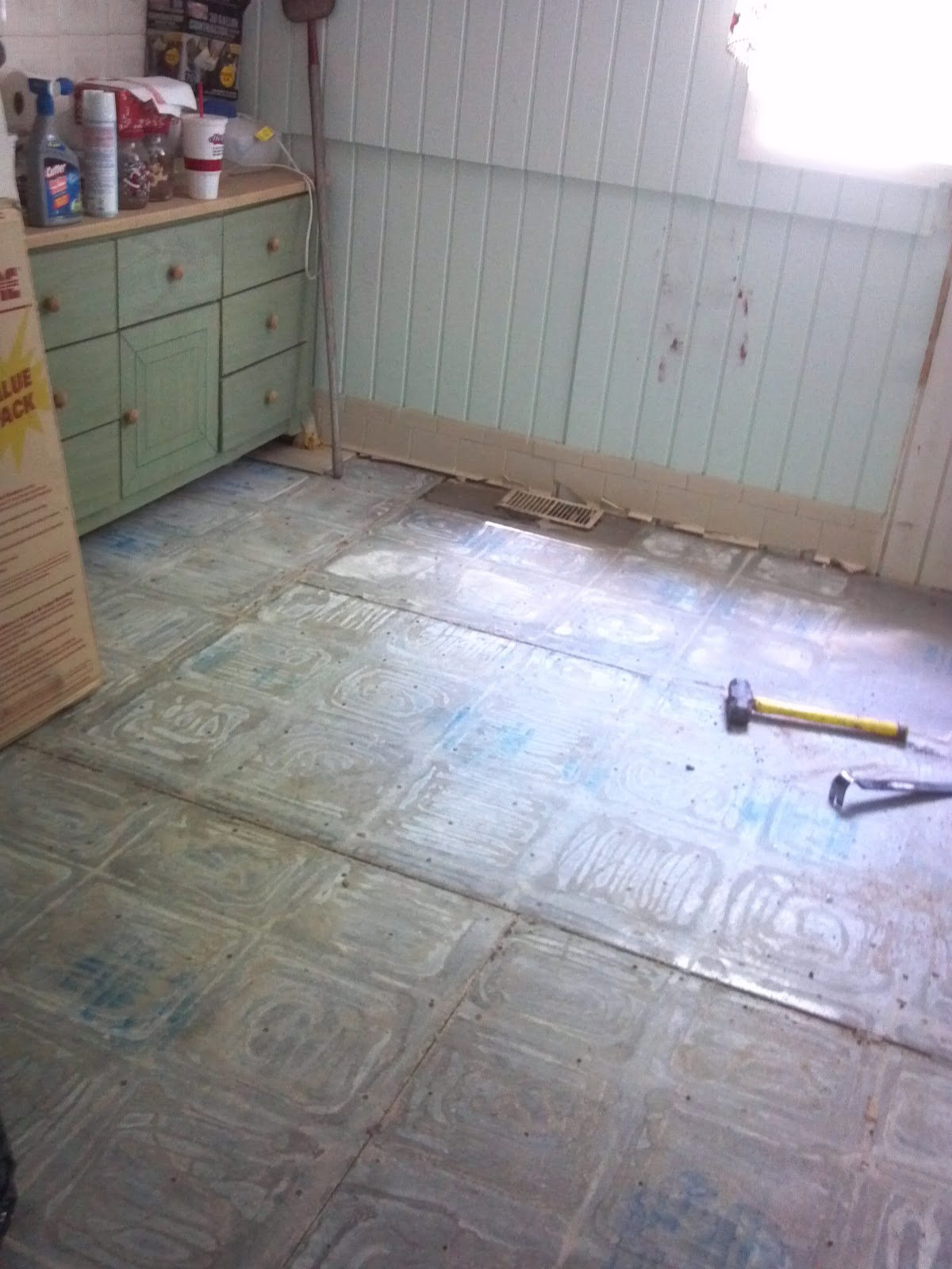 The Horner House Project: Bungalow Kitchen Demo - In Progress