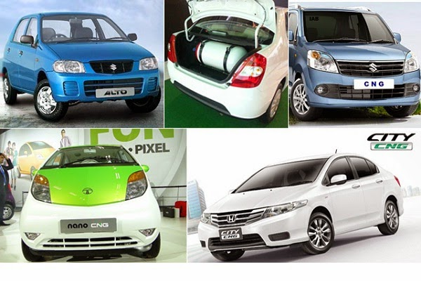 Indian CNG cars