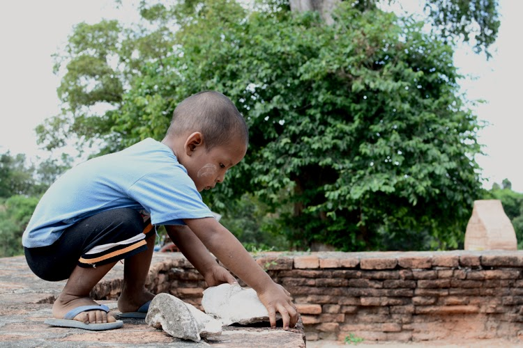 birmanie, voyage, photos de voyage, portrait, ruines, inwa