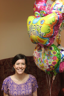 Musings Of A Middle Aged Mom Amy Birthday JPG 213x320 Happy Balloons Dollar Tree
