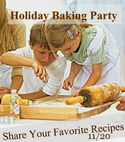 Holiday Baking Party   on November 20