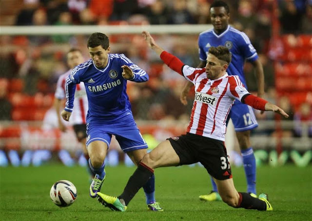 Kèo thơm cá độ Chelsea vs Sunderland