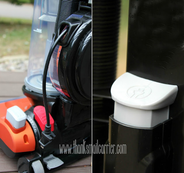 Eureka vacuum automatic cord rewind