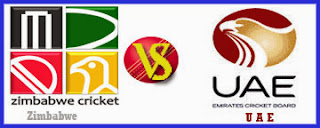 Zim vs UAE Match Full Scorecards and Live Streaming Video