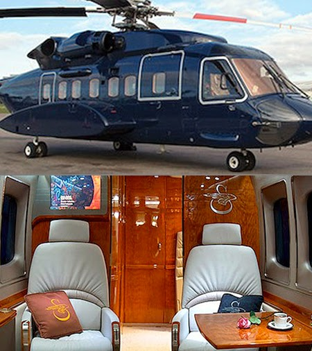 prince williams helicopter birthday gift