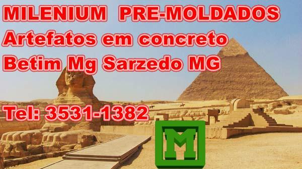 MILENIUM  Pre-moldados de concreto