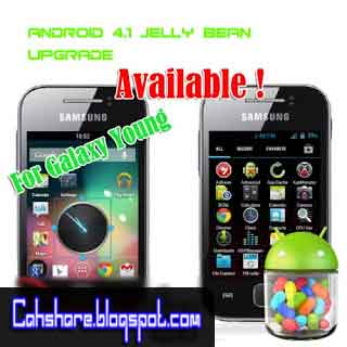 Cara Upgrade Samsung Galaxy Young GT-S5360 ke Jelly Bean V3 [V 4.1.1]