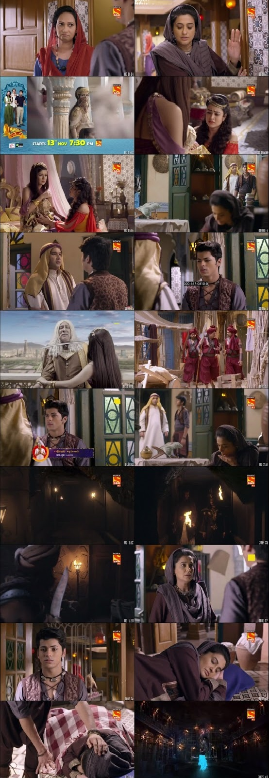 Screenshots Of Hindi Show Aladdin – Naam Toh Suna Hoga 2018 Episode 57 300MB 720P HD