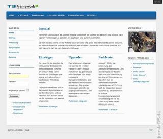 JWD Fooblue Joomla 1.6 Template