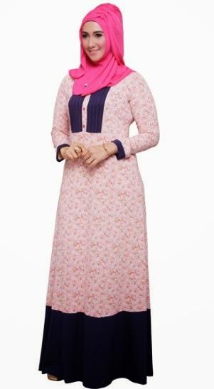 16 Contoh Model Gamis Muslim Mezora Terbaru Dan Terbaik