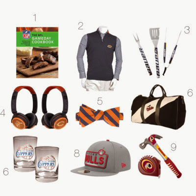 The Style Ref's 2013 Holiday Gift Guide for Men Sports Fans