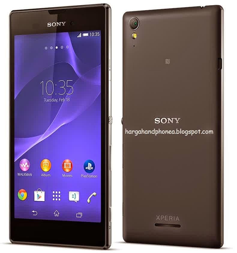 Harga Dan Spesifikasi Sony Xperia T3 Lengkap