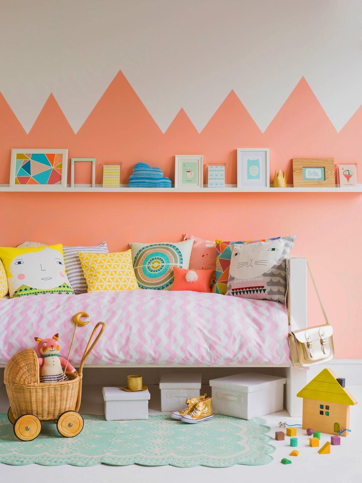 Inspiración pintar paredes dormitorio niños