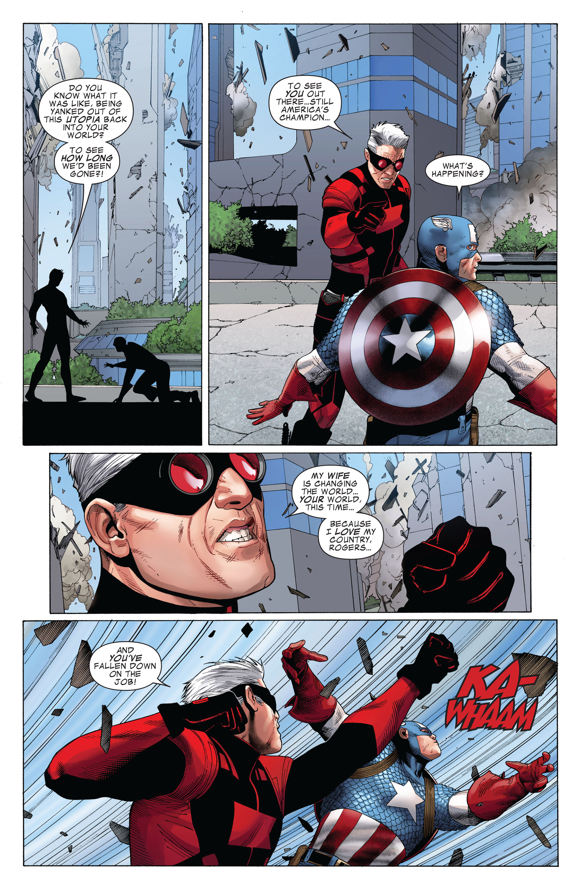 Captain America (2011) Issue #4 #4 - English 19