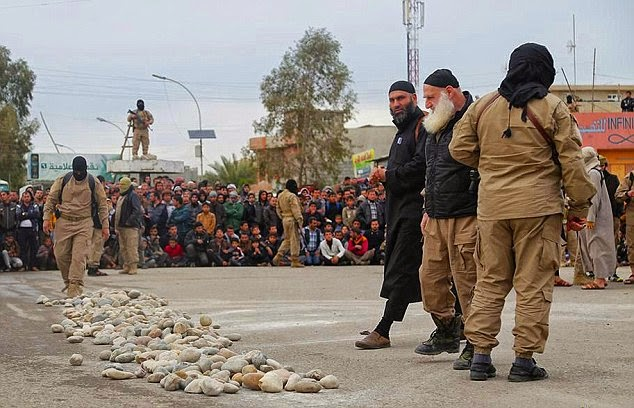 Islamic State, Stoning to death, Sex, Lovers,