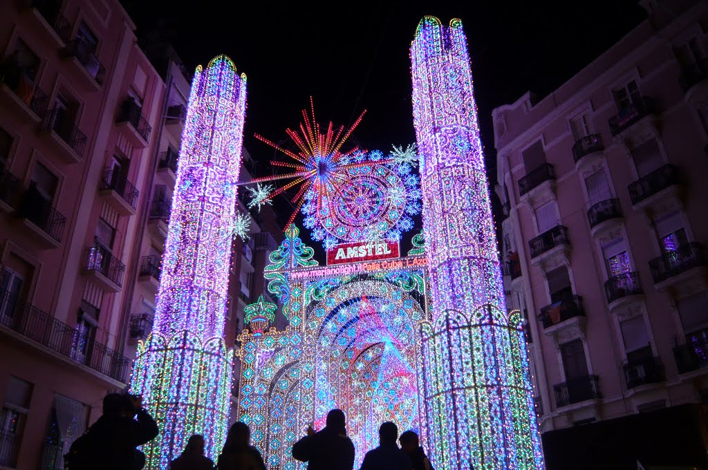 Cathedral from 55 000 leds pics - Iluminacion en valencia ...