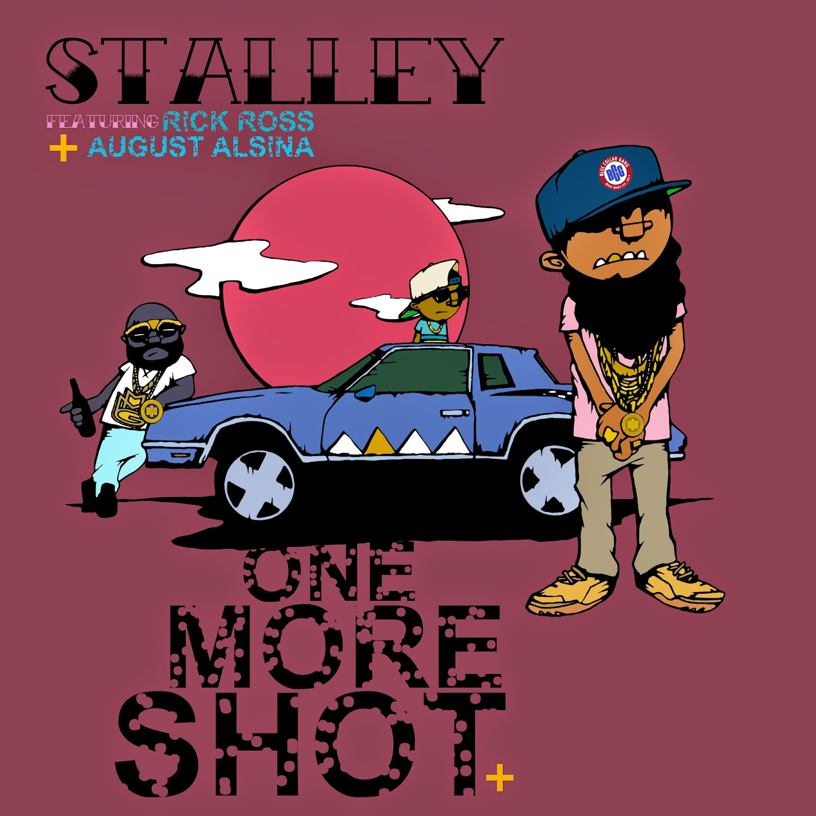 Stalley ft Rick Ross x August Alsina - One More Shot