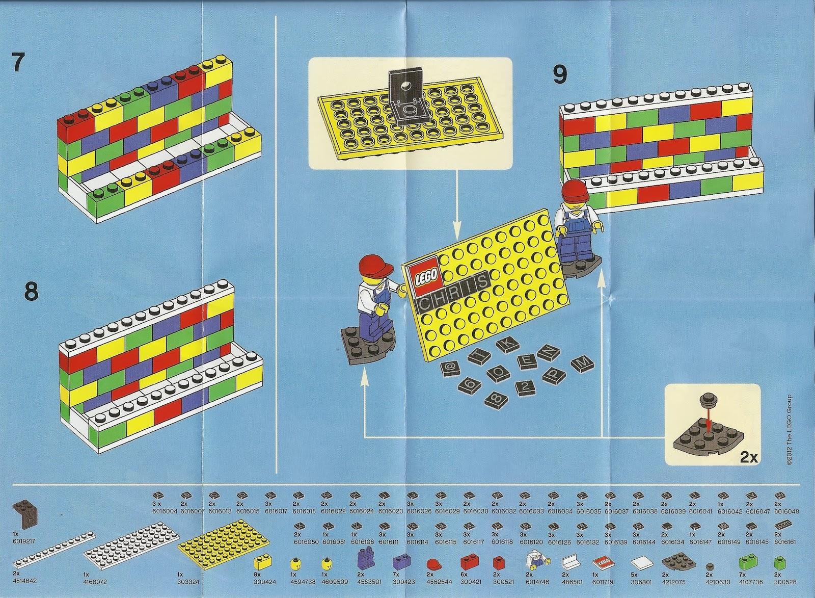 lurkerr\'s blog: Lego 850425 Desk Business Card Holder