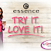Újdonság | Essence Try It. Love It. trendkiadás