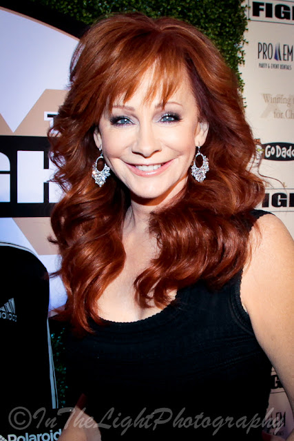 Celebrity Fight Night 2013 Red Carpet Reba McEntire
