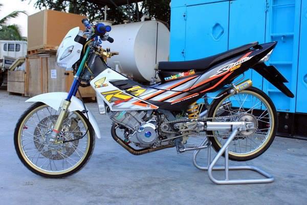 Foto Modifikasi Honda Sonic Siap Tempur