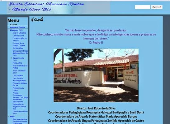Site da Escola