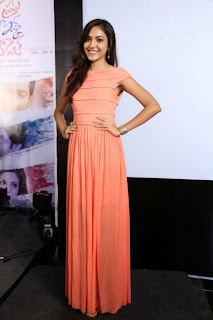 Actress Ritu Varma Picture Gallery in Long Dress at Prema Ishq Kadhal Movie Audio Launch  0028.jpg
