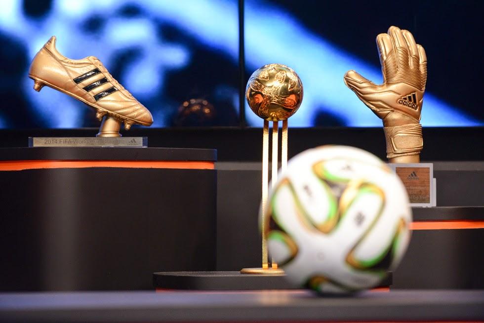 Estos son los espectaculares trofeos que adidas le entregará a los mejores del Mundial