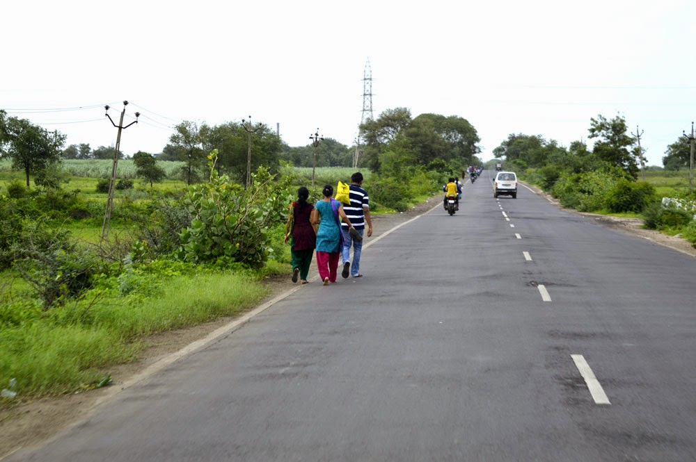 peoples on road