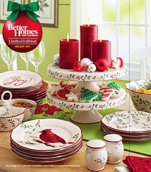 better homes and gardens christmas dishes 2010 2014 and my christmas 2013 tablescape. beautiful ideas. Home Design Ideas