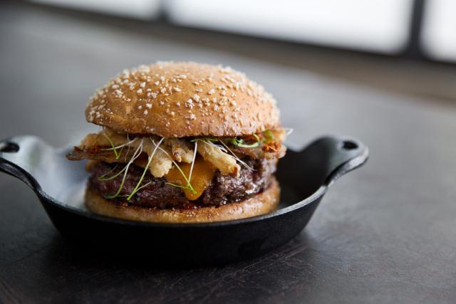 Korean BBQ Burger at Plan Check Downtown Los Angeles via M Loves M @marmar