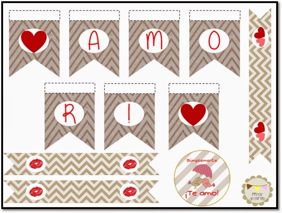 Kit de San Valentin Imprimible