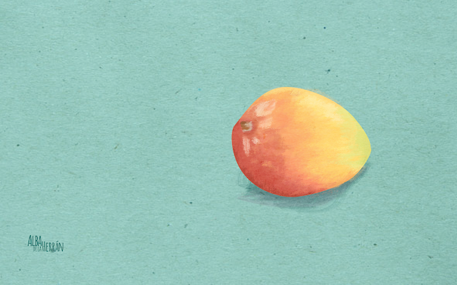 Free wallpaper mango fruit